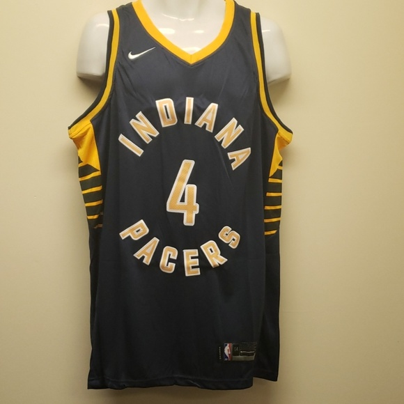 newest fa459 671d7 Victor Oladipo Indiana Pacers road jersey NWT